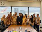 Poto delegasi di terima konsulat Jendral Indonesia di Osaka