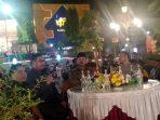Ketua DPRD Kota Madiun, Andi Raya Bagus Miko Saputro saat menegaskan bahwa penggunaan masker hanya bagi yang merasa sakit saja.