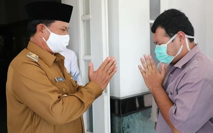 Wali Kota Maidi memaafkan RHS, pelaku Hate Speech yang berhasil ditangkap oleh Polres Madiun Kota. Wali Kota juga mencabut laporan kasus tersebut ke Polisi.