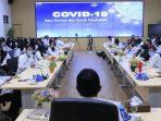 Wali Kota saat Rapat Koordinasi New Normal di bidang Pendidikan, Rabu (27/05/2020). (FB- Pemkot Madiun)
