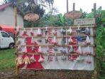 Warung Terate di Desa Cepoko Ngrayun, memberikan kesempatan untuk berbagi ditengah pandemi. (Foto - Anam)