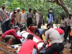 Polisi asal Ponorogo dimakamkan dengan upacara kedinasan setelah meninggal dunia saat bertugas di Kalsel.