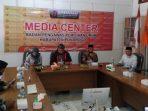 Supervisi yang dilakukan oleh Bawaslu RI untuk melakukan pengecekan kesiapan Pilkada Ponorogo 2020 di Bawaslu Ponorogo