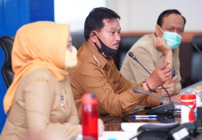 Wali Kota Madiun saat rapat dengan BPJS