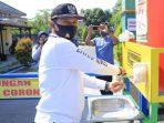 Wali Kota Maidi saat mengunjungi Kampung Tangguh di Kota Madiun, Pak Wali mengajak masyarakat untuk terus memerangi Covid 19.