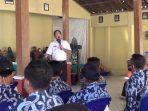 Bupati Ponorogo saat melakukan Tilik Desa di Desa Jebeng Kecamatan Slahung Ponorogo, Kamis (23/07/2020). (Foto - Yahya)