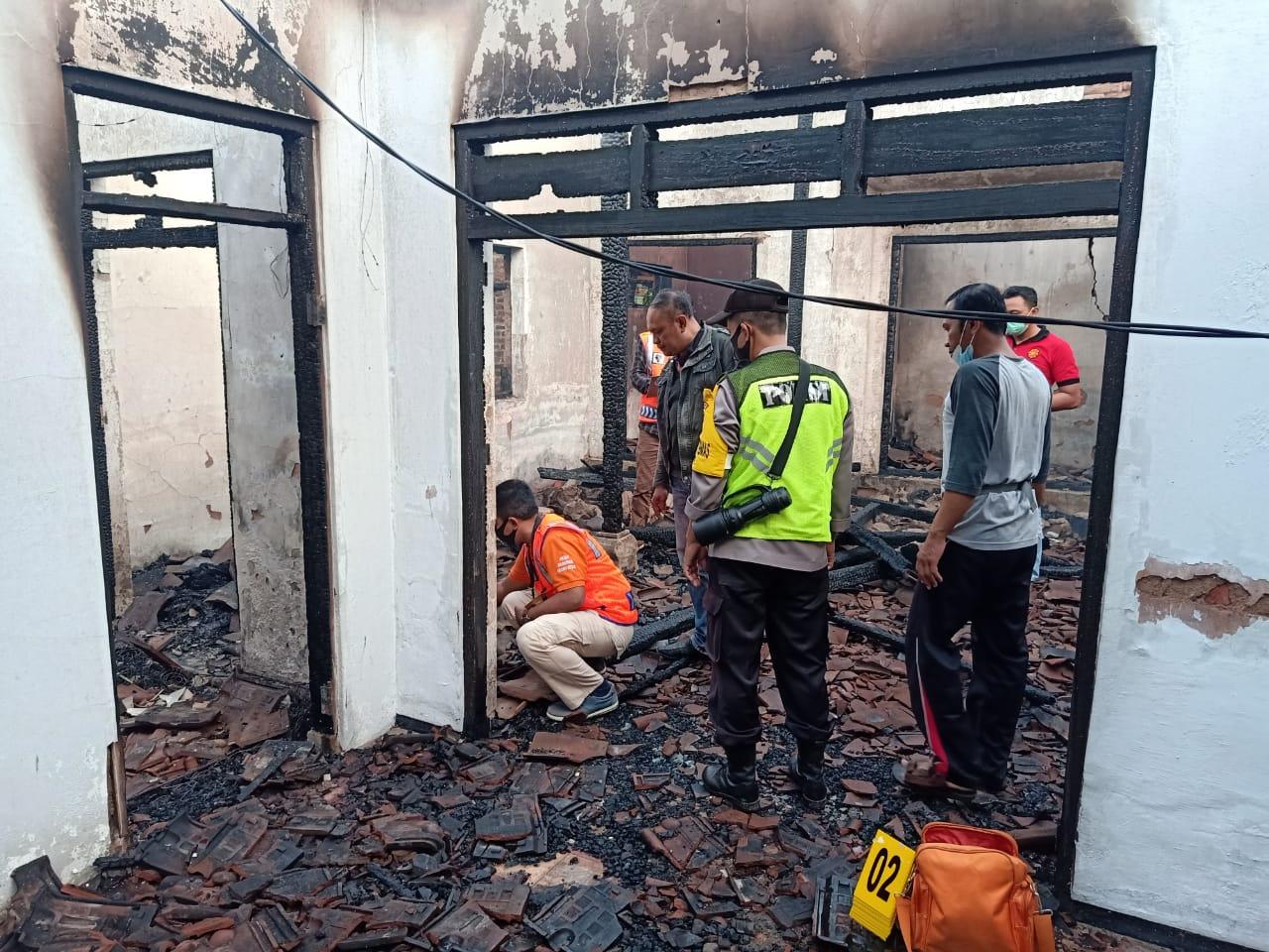 Kondisi Rumah Mbah Benu yang ludes dilalap si Jago Merah menjelang Tahun Baru