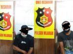 Dua orang pemuda diamankan Polisi karena membawa Proposal Palsu