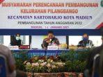 Wali Kota Madiun saat Musrenbang di Kelurahan Pilangbango Kota Madiun