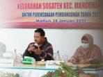 Wali Kota Madiun saat Musrenbang di Kelurahan Sogaten, Kecamatan Mangunharjo