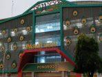 Megahnya bangunan Pasar Legi Ponorogo yang baru selesai dibangun