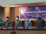 Rapat Paripurna DPRD Ponorogo dengan agenda Penyampaian Rekomedasi Pansus LKPJ Bupati Tahun Anggaran 2020