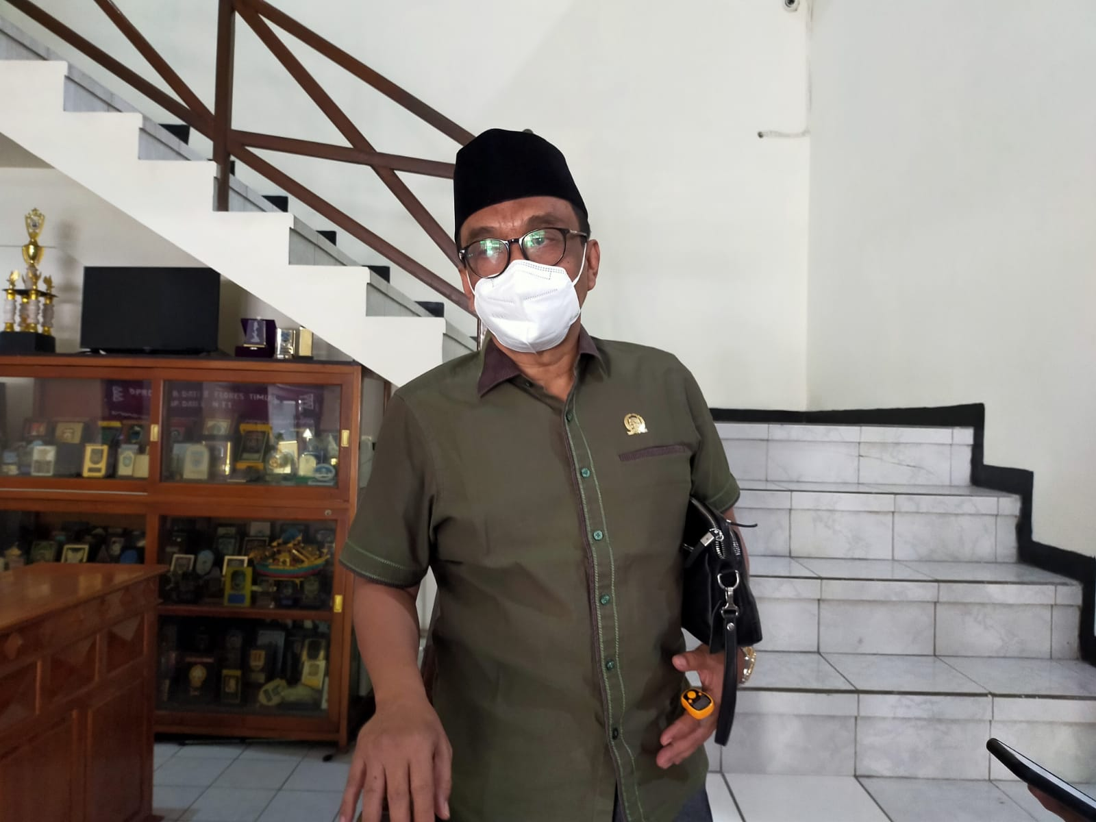 Ketua DPRD Trenggalek Samsul Anam
