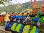 5 atlet paralayang dari Ponorogo yang mengikuti Seleksi Program Sentra Pembibitan Olahraga Paralayang Jatim (puslatda Jatim) under 17 tahun di Batu Malang