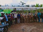 Dinas Lingkungan Hidup dan Dinas Pertanian bersama peternak dan mahasiswa PMII