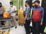Korban saat mendapatkan perawatan di Puskesmas Jambon, namun nyawanya tidak tertolong