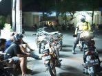 30 motor berknalpot Brong diamankan petugas kepolisian