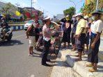 Puluhan Abang Becak di Pasar Legi terkena Semprit Pak Polisi