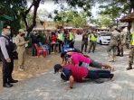 Puluhan warga Ponorogo dihukum Push Up karena tidak bermasker