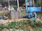 Sumur Bor untuk warga Ngrayun
